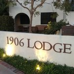 Front view of lodge, including our room in the background, Ocean Blvd
