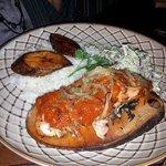 Longitud315 grilled Salmon