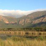 Lower escarpment