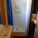 Bathroom - shower exceptionally small
