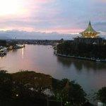 the Sarawak river