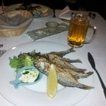 Blue fish --- very tasty