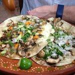 Mushroom Quesadilla - delicious