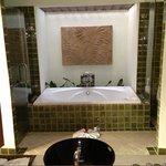 bath in grand villa