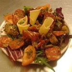 """L'antipasto misto"" (mixed Hors d'oeuvres Italian style)"