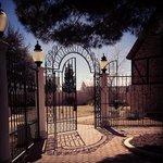 Entry gates, Globe Theatre, Odessa TX