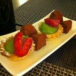 Post-desserts (mignardises)
