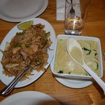 Thai Green Curry and Fried Rice