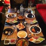 Diner au Riad