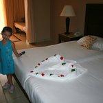 la Camera e gli asciugamani del nostro boyroom....