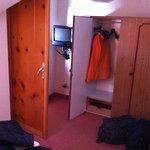armadio e porta bagno