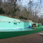 Pool area -- Lower Level
