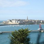 View of Saint-Malo from Cite D'Alet