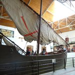 The replica ship of Bartolomeu Dias