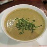 Velvety Cream of Mushroom Soup