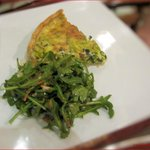 The Daily Quiche with Green Salad