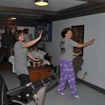 A little zumba on the wii