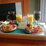 Breakfast served to your room.