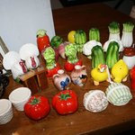 No shortage of fun salt & pepper shakers at Country Chic