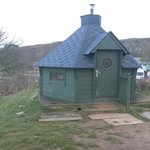 The Wooden Yurt On Hill