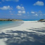 Beach on Little Exuma