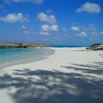 Beach on Little Exuma