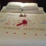 結婚紀念日佈置