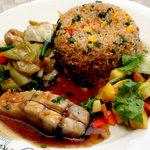 Fish fillet and Nasigoreng