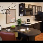 """Enjoy the """"Comforts of Home"""" in our Studio Suite"""