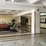 Lobby and front desk.