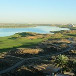 Mangrove islands and Yas Links fields
