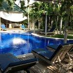 Main hotel/pool area