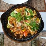 An excellent Thai food