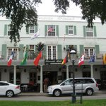 Old, original hotel facing Las Olas Boulevard