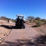 cart path.