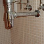 waschbecken von unten