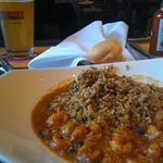 Crawfish Ettouffee with dirty rice