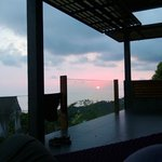 Sunset from Infinity Villa #1
