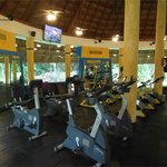 A part of the gym