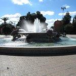de fontein voor het park