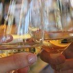 Tasting at the vineyard