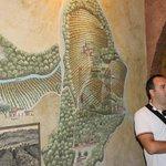 Enzo providing history of the vineyard