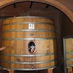 Enzo providing history of the barrels