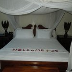king size bed with netting