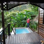 Mango honeymoon suite with private pool