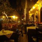 street scene outside Hot