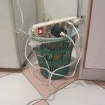 Overloaded dangerous plugs