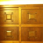 colonial woodwork closet
