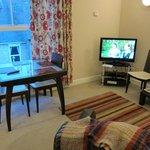 TV/dining area