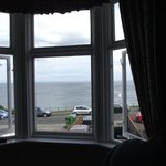view from sitting room and front bedrooms